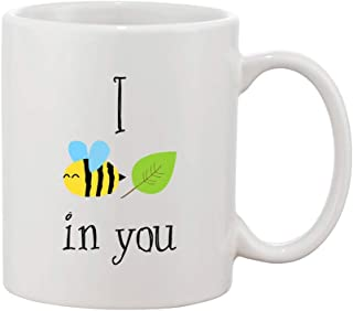 I Bee Leaf In You Cute Design White Ceramic Coffee And Tea Mug
