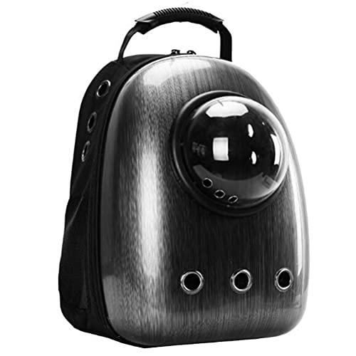 ペット バッグ ペット用キャリーバッグ 宇宙船カプセル型ペットバッグ 犬猫兼用 犬 お出かけ バッグ ペット用品 リュックサック 人気ペッ ト鞄 アップグレードされたキングコングブラック