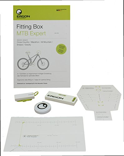 Ergon alle Fitting Box MTB Expert Fahrradeinstellhilfe, neutral, One Size