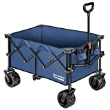 VIVOSUN Folding Collapsible Wagon Utility Outdoor Camping Beach...