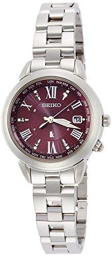 [セイコーウォッチ] 腕時計 ルキア ラッキーパスポート SSQV019 シルバー