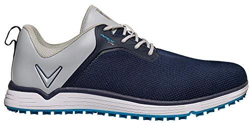 Callaway Apex Lite Spikelesss 2020 Zapatillas de golf impermeables Hombre, Azul Marino/Gris, 44.5 EU