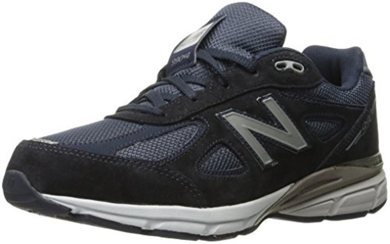 New Balance KJ990V4 Running Shoe (Little Kid/Big Kid) Navy 7 M US Big Kid [並行輸入品]