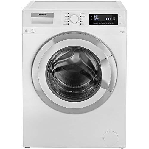 Smeg WMF916AUK 9Kg Washing Machine with 1600 rpm - White / Chrome
