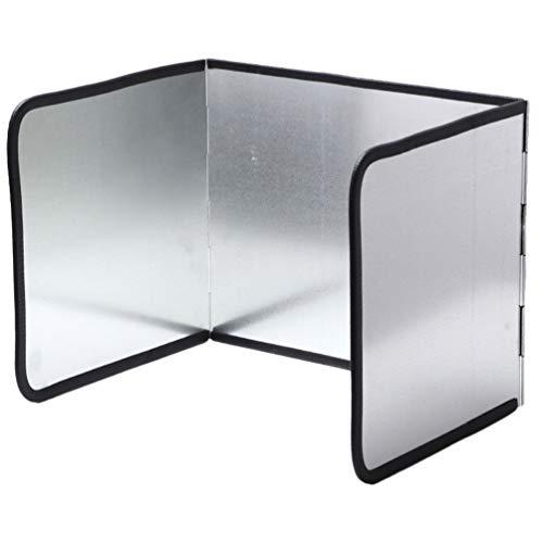 Angoily Protector Protector contra Salpicaduras Protector Il Protector Papel de Aluminio Bloque de Aceite Barrera de Aceite Cocina de Estufa Deflector de Aceite Anti-Salpicaduras