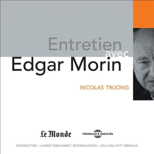 Couverture de Entretien avec Edgar Morin