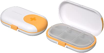 Chuanhao Przenośny pojemnik na tabletki o dużej pojemności, do domu i na zewnątrz
