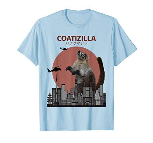 coatizilla Funny Nasenbär T-Shirt | Cooles Nasenbär Liebhaber Geschenk