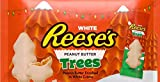 Reese's Peanut Butter Christmas Trees White Individually Wrapped Total 150 Pieces