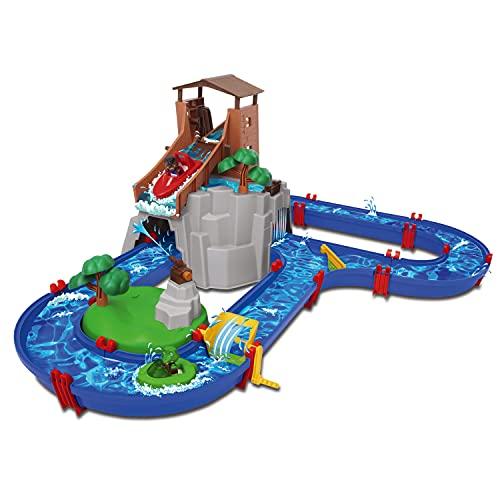 Simba Dickie Vertriebs GmbH 8700001547 Aquaplay Adventureland WASSERSPIELBAHNEN, bunt