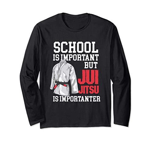 School Is Important But Jiu Jitsu Is...