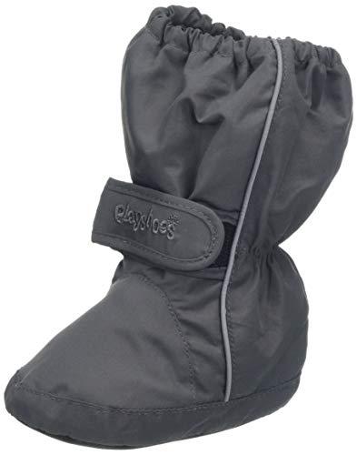 Playshoes Kinder Thermo-Bootie, Grau (grau 33), 22/23 EU