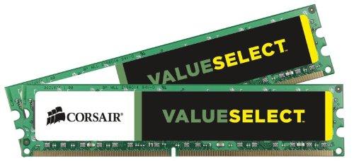 Corsair CMV16GX3M2A1333C9 Value Select 16GB (2x8GB) DDR3 1333 Mhz CL9 Standard Desktop Memory