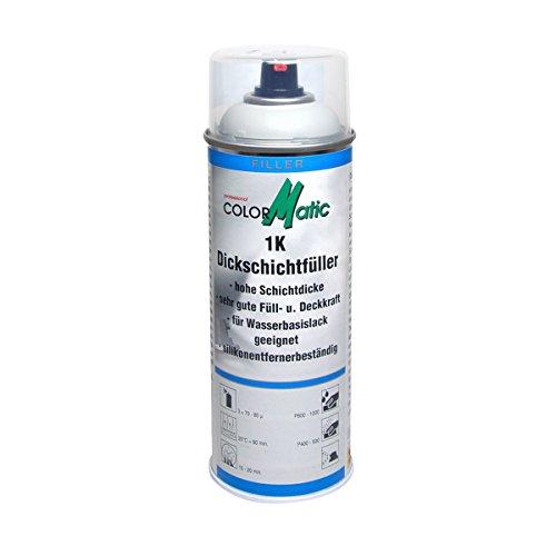 COLORMATIC 375354 Professional cm 1K Dickschichtfüller, 400 ml, Hellgrau