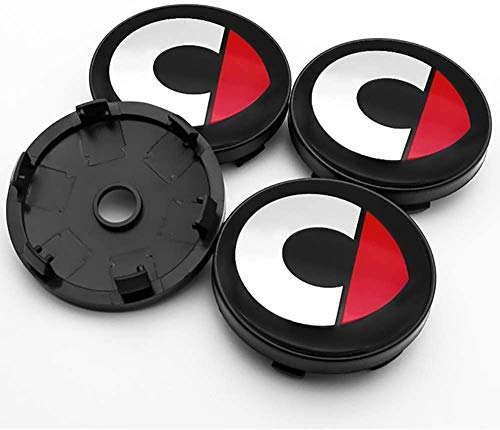4 Piezas Coche Tapas centrales, para Mercedes Benz Smart CLA CLS GLC GLE Car Pegatina Centrales Tapones Mediados Tapas