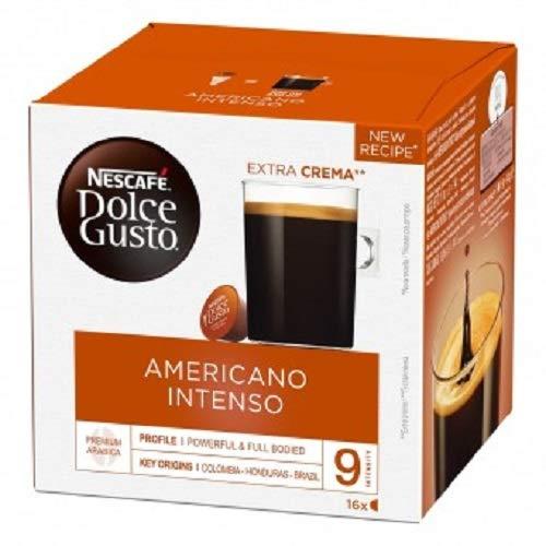 Dolce Gusto Nescafé - Grande Intenso - 3 Paquetes de 16 Cápsulas - Total: 48 Cápsulas