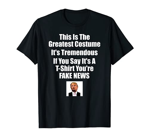 Trump Costume Clever - Disfraz de regalo de Halloween Camiseta