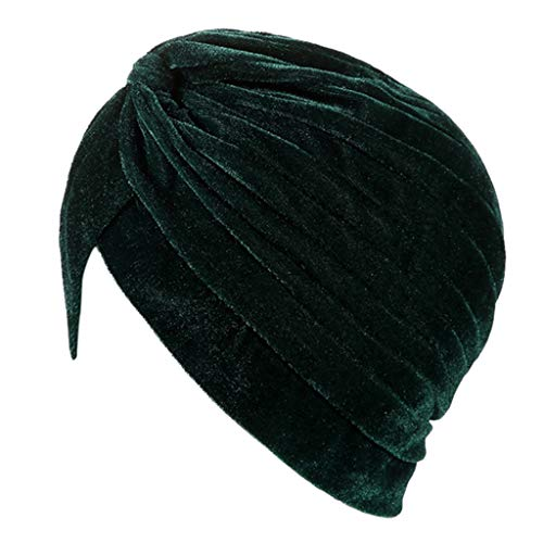 Women Muslim Turban Cap India Elegant Turban Chemo Cancer Yoga Sports Face Washing Hats