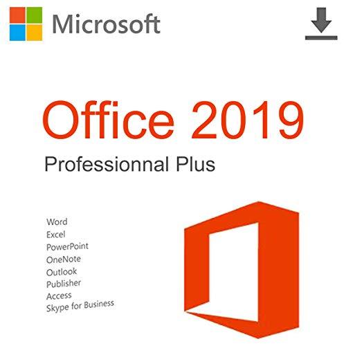 Microsoft Office 2019 Professional Plus, Lizenzschlüssel für die ursprüngliche Aktivierung, Senden per E-Mail und Post [license]