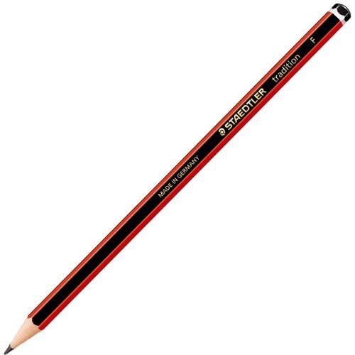 Staedtler Tradition Bleistifte [, 6 Stück] Güteklasse - F OTEO DLPLUS