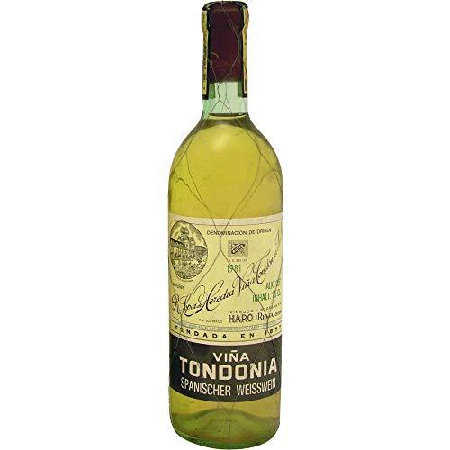 Vina Tondonia Reserva blanco 1981 Rioja Reserva DO Weißwein trocken Lopez de Heredia Vina Tondonia Spanien 750ml-Fl (504.00€/L)