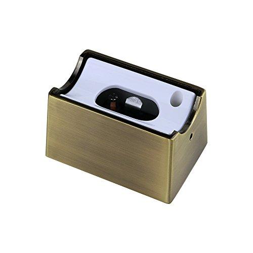 Fassung für Linienlampen S14d 35W / 60W Glühlampe LED für Osram Linestra Ralina Philinea - hochwertig Farbe Bronze
