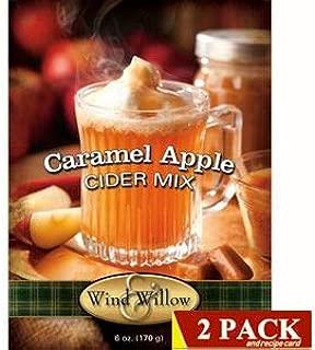 Wind & Willow Gourmet Wassail and Cider Mixes 2 pack (Caramel Apple Cider Mix)