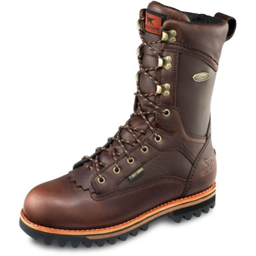 "Irish Setter Men's 882 Elk Tracker Waterproof 600 Gram 12"" Big Game Boot,Brown,10 B US"