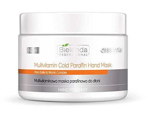 Bielenda - Máscara de mano con parafina fría multivitamínico y complejo vitamínico 150 g
