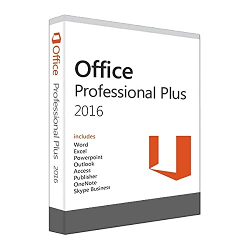 Office 2016 Pro Plus (Lifetime for 1 Windows PC)
