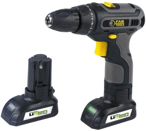 Far Tools Cordless Drill 18V - Taladro combinado