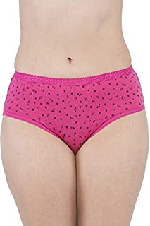 VIP Feelings Passion Outer Elastic Cotton Hipster Assorted Panties - Pack of 6
