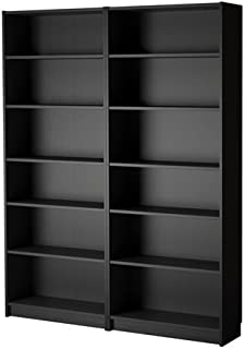 Ikea Bookcase, black-brown 4202.8214.3022