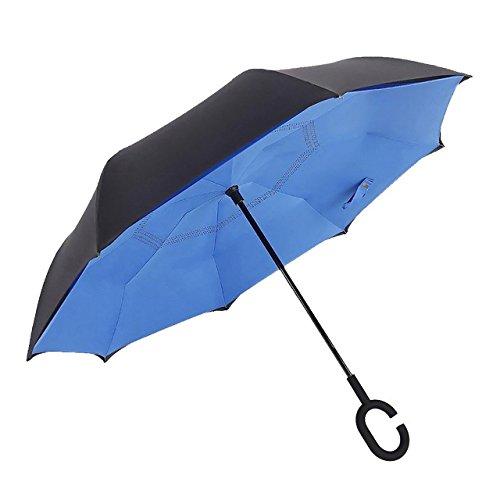 SUPRELLA PRO®  – Das Original | Der Regenschirm - neu erfunden. | Ø1.10m | Style: Blau