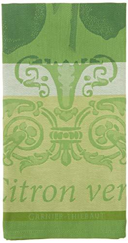 Garnier Thiebaut Geschirrtuch, Baumwolle, lichtgrün, 56x 77cm