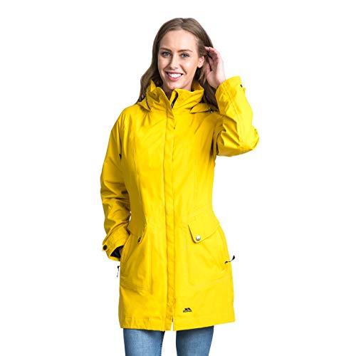 Chubasquero amarillo pescador para mujer