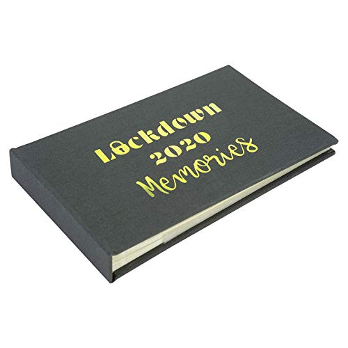 Metal Planet Ltd Lockdown 2020 - Álbum de fotos (40 fotos de 15,2 x 10,1 cm), color gris