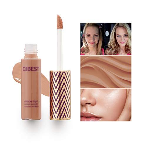 Mimore Liquid Concealer Makeup, Concealer Cover Flüssigmatt Full Coverage Concealer, 24HR Bright Color Concealer, wasserdichter, schweißfester Beauty Concealer - 3 Farben (05)