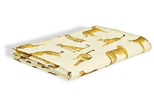 R.P. Safari Sprei, digitaal bedrukt, 100% katoen, made in Italy, Frans type Ikea