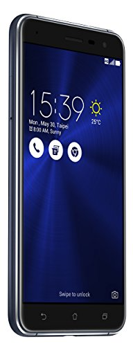Asus ZenFone 3 (ZE552KL) Dual-SIM Smartphone (5,5 Zoll (14 cm) Full-HD Touch-Display, 64GB Speicher, Android 6.0) schwarz