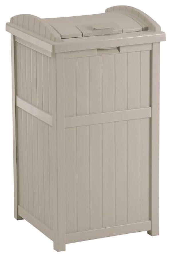 プレミアム廃棄夕暮れSUNCAST(サンキャスト) ウッディーダストボックス (ホワイト) Trash Hideaway 正規品