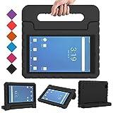 BMOUO Kids Case for Walmart Onn 7 inch Tablet, Onn 7 inch Tablet Case, Shock Proof Light Weight Protective Handle Stand Onn 7 inch Tablet Case for Kids Model 100005206 - Black