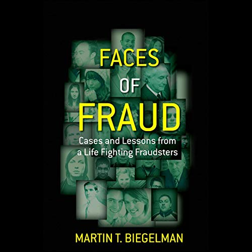 Faces of Fraud audiobook cover art