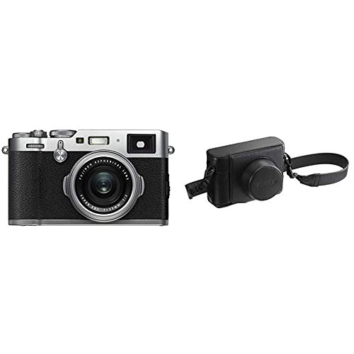Fantastic Prices! Fujifilm X100F 24.3 MP APS-C Digital Camera-Silver Bundle with Fujifilm LC-X100F L...