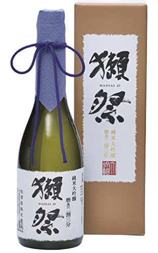 獺祭(だっさい) 純米大吟醸 磨き二割三分 DX箱入り [ 日本酒 山口県 720ml ] [ギフトBox入り]