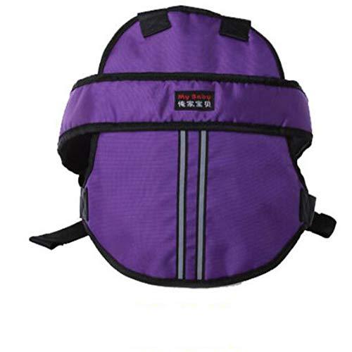 PYY Tragbarer Kinder-Gurt Kinder Sicherheitsgurt-Sicherheitsgurt Einstellbarer Schutzbaby -Gurt Kinder Sicherheitsgurt für Motorrad Kinder Gurte für ElektroAuto/Fahrrad,Purple