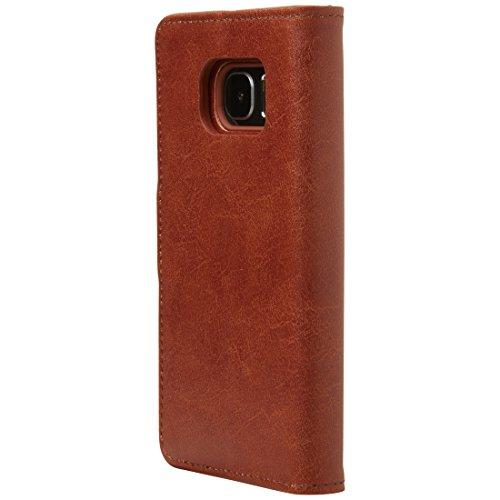 Ultratec 331400000669 - Funda Protectora para Samsung Galaxy S7, Color Cognac