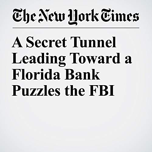 『A Secret Tunnel Leading Toward a Florida Bank Puzzles the FBI』のカバーアート