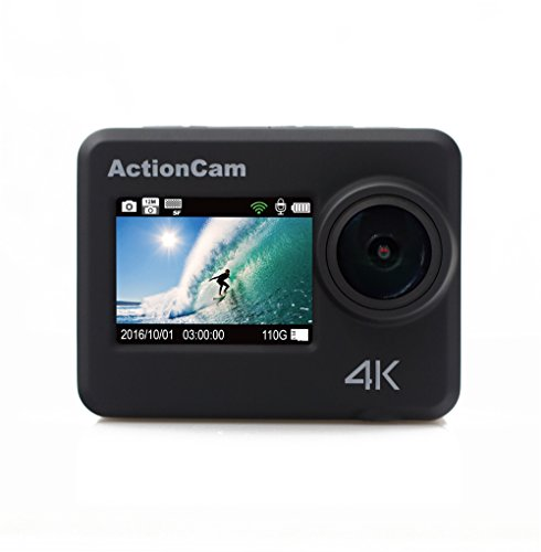 KOONLUNG A12 4K WiFi Sports Action Camera Ultra HD Waterproof DV Camcorder 12MP 170 Degree Wide Angle.Waterproof 40M DVR