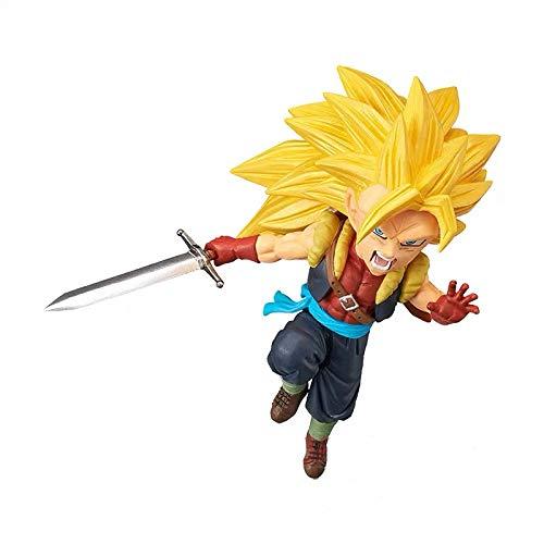 Dragon Ball Heroes World collectable Figura Vol.7 WCF Cumber Zamasu Goku Gogeta Model Figure (D)
